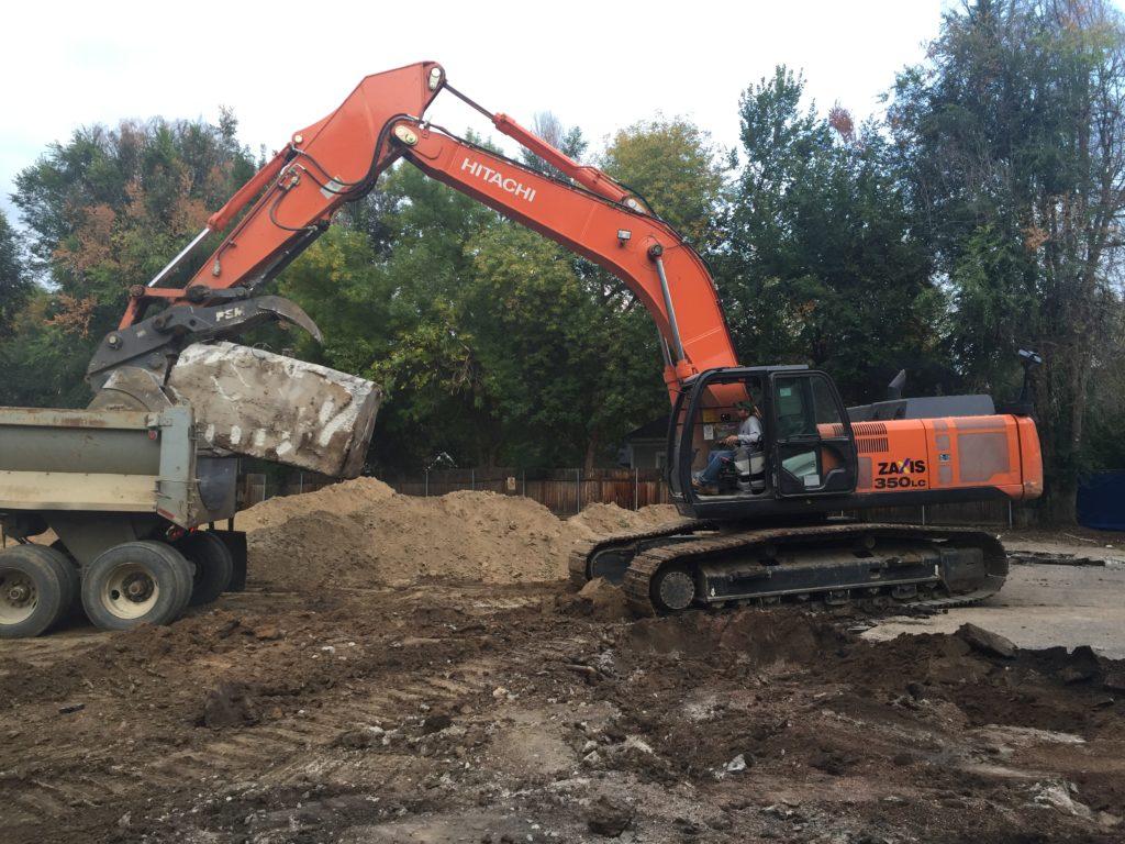 Harold's Excavating Efficiency