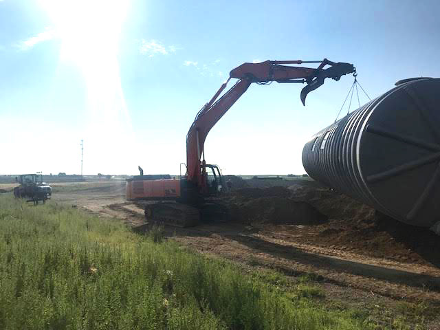 Excavator-Storage-Tank-Fire-Suppression